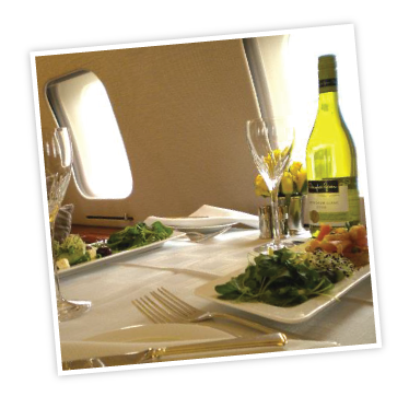 Aspen In-Flight Dining and Private Jet Aircraft Catering