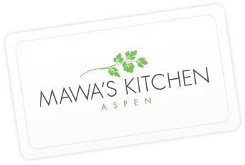 Purchase a Mawa's Kitchen Gift Certificate