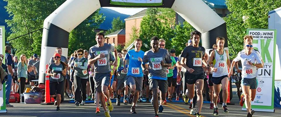 Aspen Food and Wine 5K Charity Run