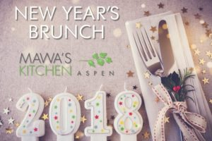 Mawa's Kitchen presents New Year's Brunch – Jan 1, 2018