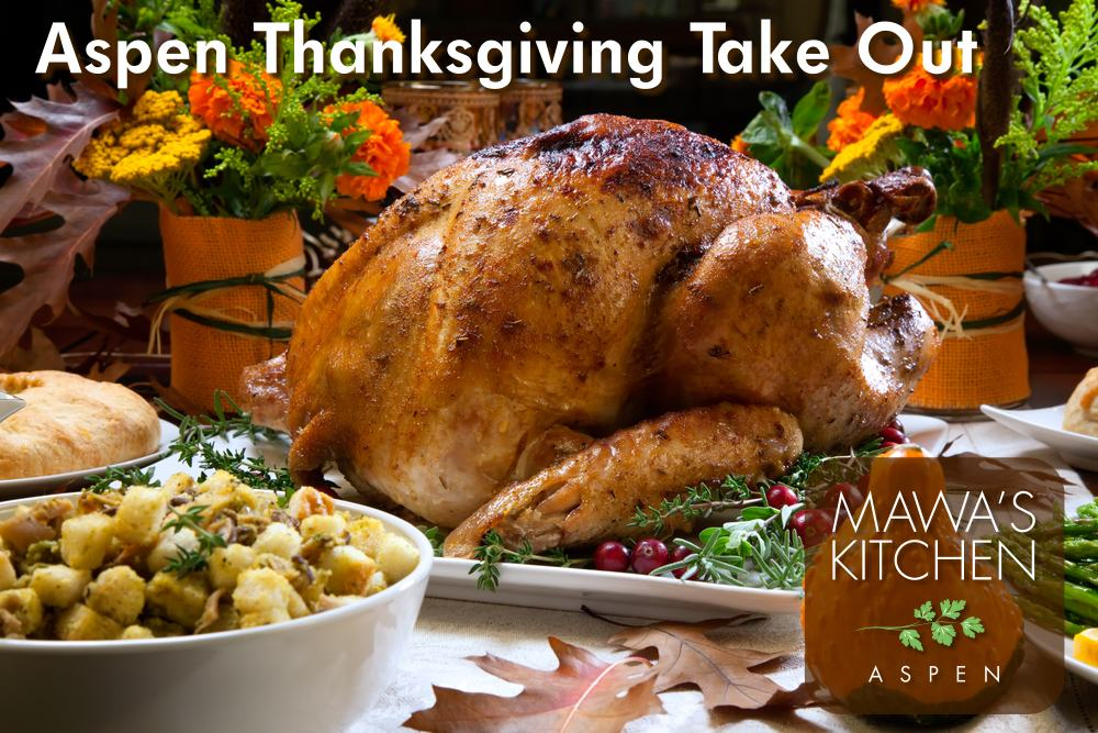 Aspen Colorado Thanksgiving Take Out Catering Menu