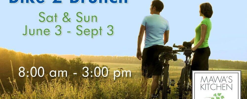 Aspen Bike 2 Brunch Promotion Summer 2017