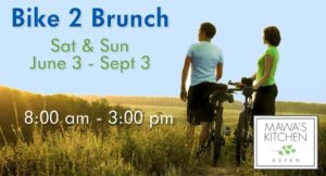 Bike 2 Brunch Promotion – Summer 2017