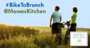 Bike to Brunch at Mawa's Kitchen - Aspen, Colorado