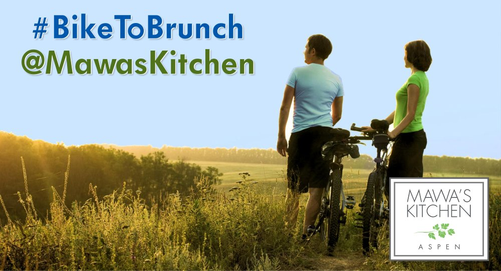 Bike to Brunch at Mawa's Kitchen – Aspen, Colorado