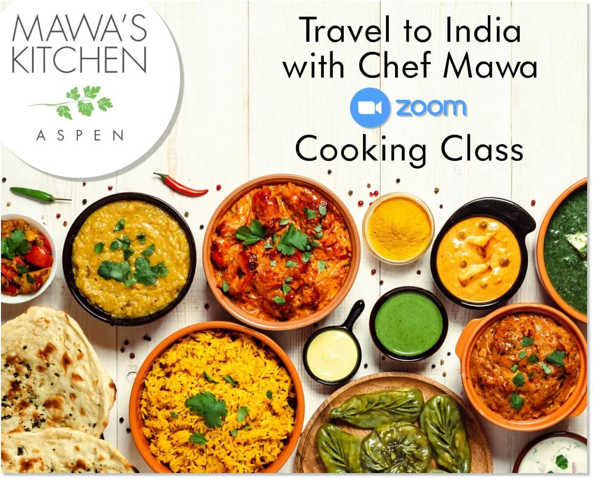 Free! A Taste of India Cooking Class with Chef Mawa McQueen