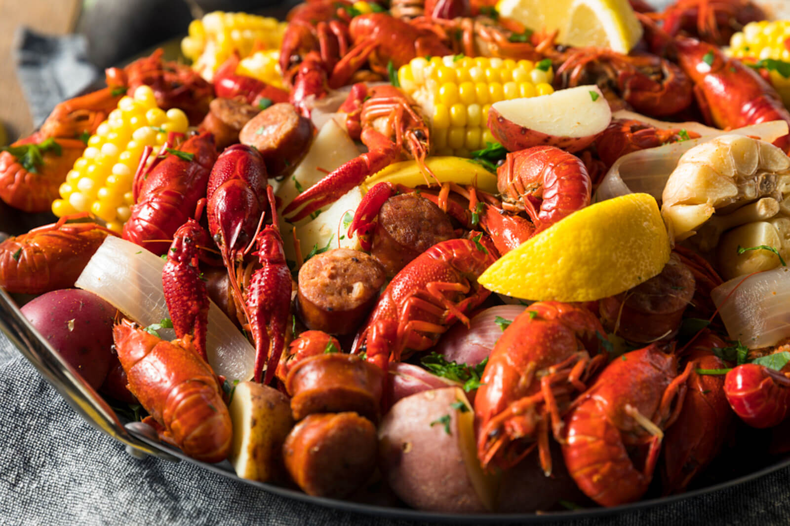 2nd Annual Crawfish Boil – June 22nd, 2019