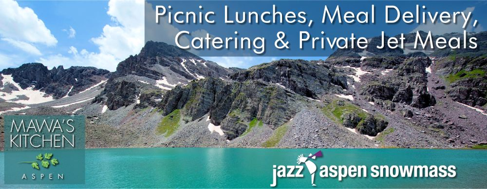 Jazz Aspen Snowmass Picnic Lunches, Meal Delivery, Catering, and Private Jet Meals