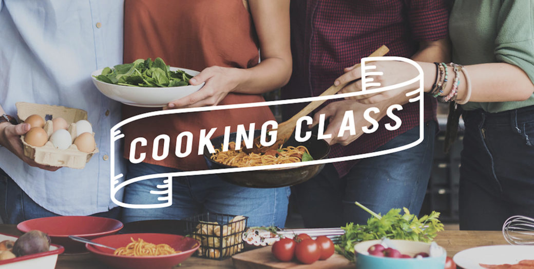 Now Serving - Lunchtime Cooking Classes