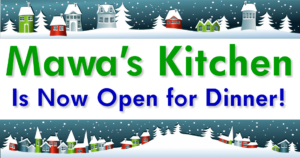 Mawa's Kitchen is now serving dinner!