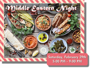 Middle Eastern Night at Mawa's Kitchen Aspen
