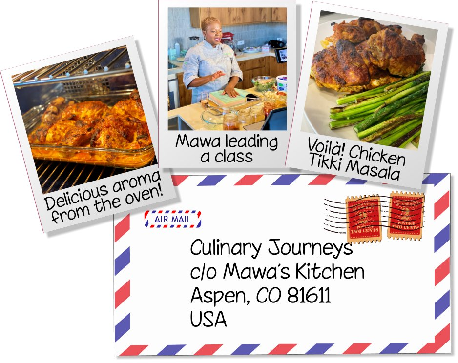Online Cooking Classes from Mawa's Kitchen Aspen Colorado