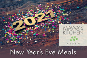 Aspen New Year's Eve To Go Meals