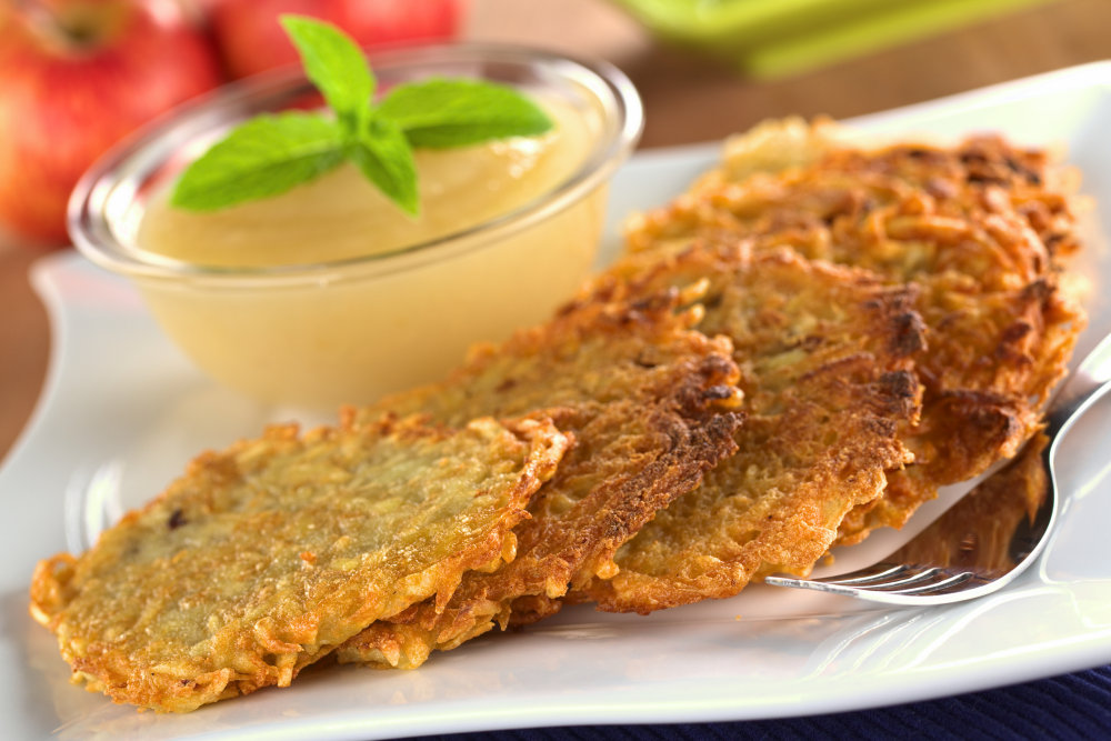 Potato Latkes for Rosh Hashanah