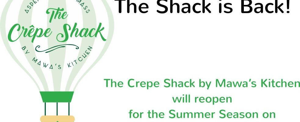 The Crepe Shack in Snowmass reopens Thursday, 7/2/2020