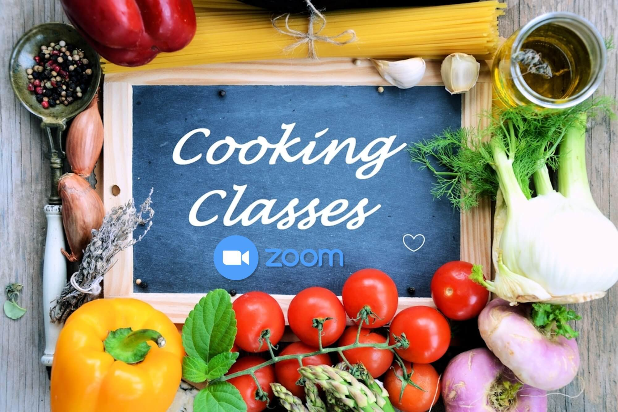 Online Cooking Classes with Chef Mawa
