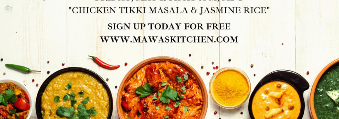 Zoom Cooking Class with Mawa: Indian Cuisine 5/15/2020